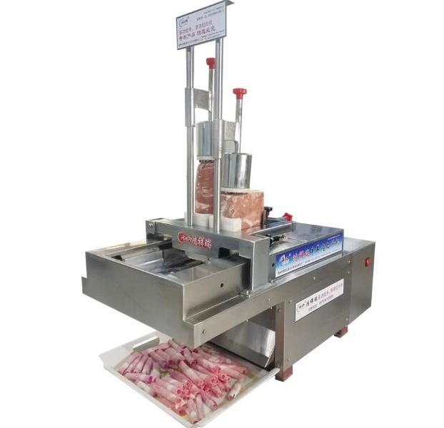 长沙多功能平切式2卷切片机